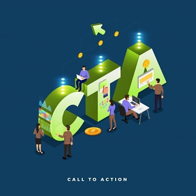 Call to action, web-marketing strategy